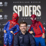 From space to spiders: Queensland Museum heads into the spider-verse