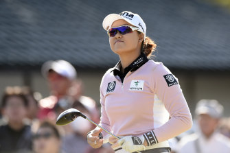 Minjee Lee is in the hunt for the richest prize in women's golf this weekend.