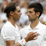Old guard: Djoker, Rafa and Fed year-end leaders once more