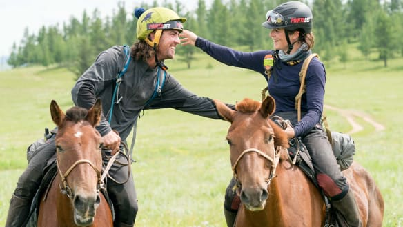 Yes he Khan: Australian wins 1000km Mongol Derby horse race