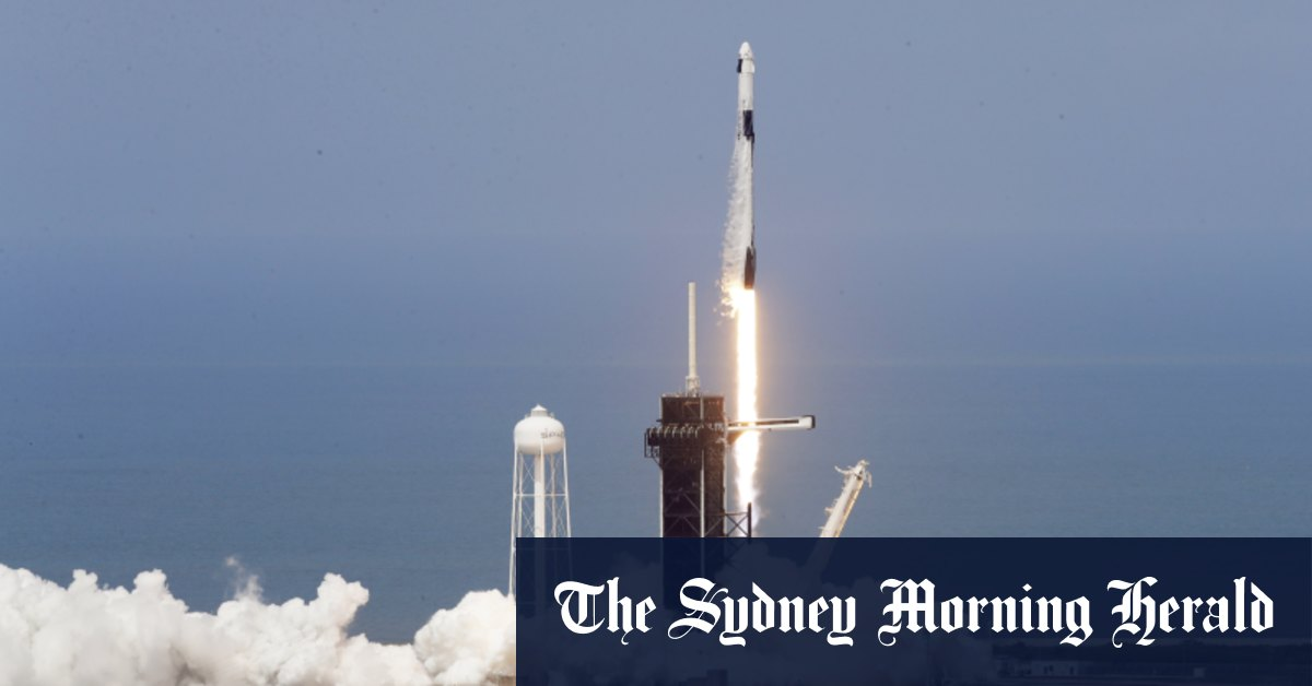 Inspiration4: billionaire funds SpaceX flight for himself three 'everyday' people – Brisbane Times