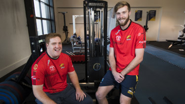 Tom Ross and Mack Hansen will get a chance to make their debut together.