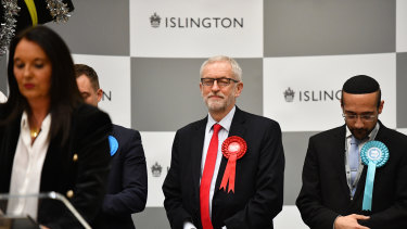 Jeremy Corbyn will step down as Labour leader after his election drubbing.