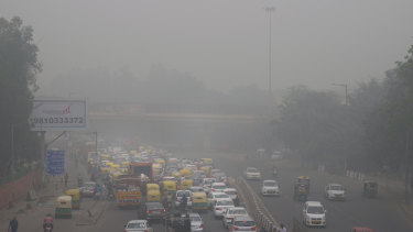 Authorities in New Delhi are restricting the use of private vehicles as the national capital continues to gasp under toxic smog.