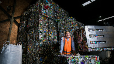 Polytrade's recycling plant at Rydalmere will close at the end of next month.