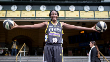 Where to next?: Ezi Magbegor is considered a top-20 pick in Thursday's WNBA Draft.