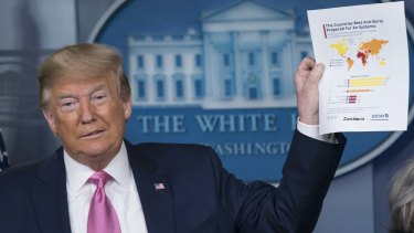 President Donald Trump has faced heavy criticism for his response to the coronavirus.