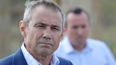 Health Minister Roger Cook said the Artania was scheduled to depart WA next week.