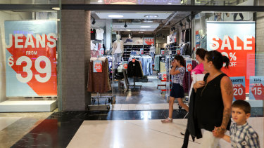 About 90 per cent of stores in Westfield's centres are now open.