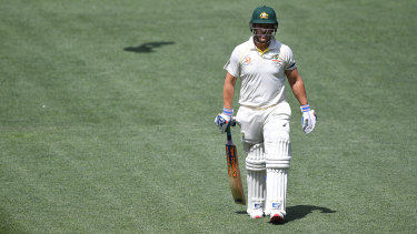 No review: Only Aaron Finch knows if he was out.