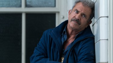 Mel Gibson stars as compromised policeman Detective Brett Ridgeman in Dragged Across Concrete.