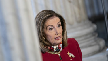 House Speaker Nancy Pelosi, a Democrat from California, has issued a warning to Democrats.