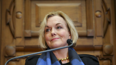 The lockdown was the easy part: National Party leader Judith Collins.