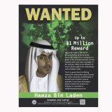 The wanted poster released by the  US Department of State Rewards for Justice.