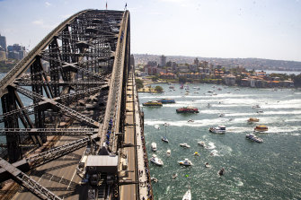 The traditional Australia Day ferrython on Sydney Harbour will not be held this year because of the COVID-19 crisis.