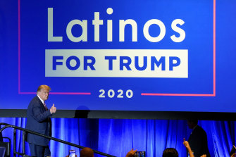Trump chipped away at Biden's support among Latinos, especially in Florida.