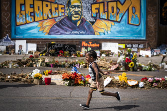 The police killing of George Floyd sparked a national reckoning on race in the US.