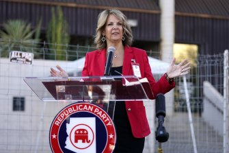 Dr Kelli Ward, chair of the Arizona Republican Party, won support to stay on for another two years by a small margin but enough to give Trump Republicans hope of maintaining relevance.