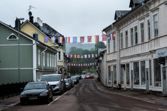 Filipstad, Sweden: Swedes have long been willing to pay high taxes for a generous social safety net, but that willingness is being tested by an influx of refugees.