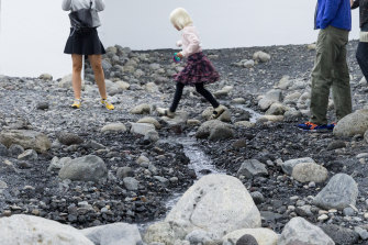 Olafur Eliasson, Riverbed 2014 (detail).
