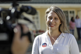 Democrat Katie Hill has apologised to friends and supporters for engaging in an inappropriate affair with a campaign staffer.