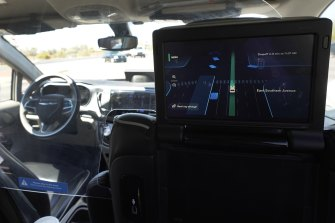 The driverless car market is expected to top $US2 trillion by 2030.