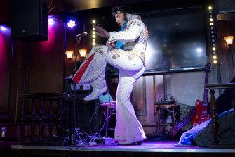 Kjell Elvis broke the world record and kept going.