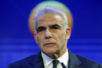 Yair Lapid was tasked with forming a government before the 11-day Gaza war against Hamas last month.