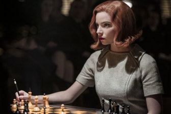 Anya Taylor-Joy in The Queen's Gambit.  Nona Gaprindashvili is mentioned by name in the series.