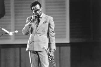 Miles Davis around the time Kind of Blue was recorded.