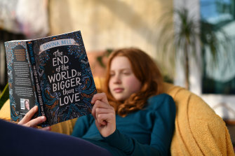 Marly James reads 'The End of the World Is Bigger Than Love'.