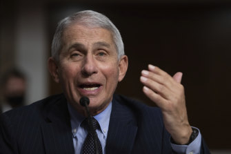 """Dr Anthony Fauci, a member of the White House coronavirus taskforce, warned that """"there's gonna be a whole lot of pain"""" unless something changed."""