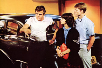 Paul Le Mat (who played John), Cindy Williams and Howard.