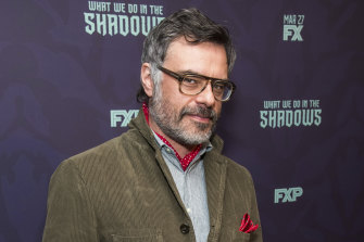 Jemaine Clement in New York at the premiere of the first season of What We Do In the Shadows in 2019.