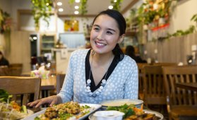 Alice Pung lives on campus at Melbourne University as a college artist-in-residence, but her roots are still firmly in Footscray.