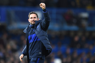 Chelsea boss Frank Lampard was delighted.