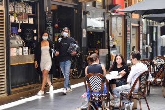 At The Quarter on Degraves Street, staff didn't know what to expect on Wednesday.