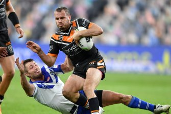 Josh Reynolds is fit and firing now that he has returned to the Tigers team.