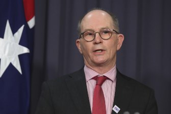 Chief Medical Officer Professor Paul Kelly says COVID-free states need to vaccinate as fast as they can so they can prepare to live with the virus.