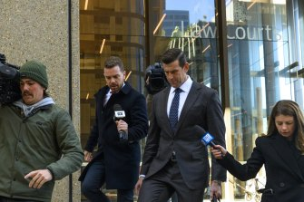 Ben Roberts-Smith has completed his evidence in chief. Cross examination by the media's lawyers is to come.