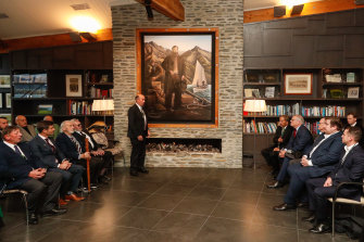 Leaders gather for the annual Australia-New Zealand leaders' meeting in Queenstown, New Zealand.