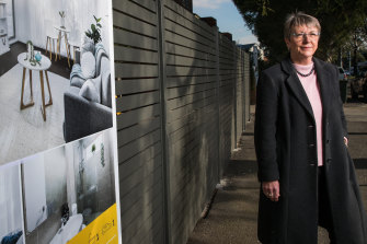 Real estate agent Rosemary Jamonts is calling for reserve prices to be published ahead of auctions