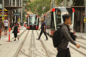 Disability advocates say they have concerns over the new CBD light rail.