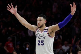 Superstar: Ben Simmons is the giant who can lead the Boomers to glory against the US.