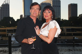 David and Lisa attend The Real Housewives of Sydney Launch in February 2017.
