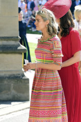 Friend of the royals ... Cressida Bonas.