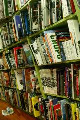 Salom's novel is set around a Melbourne bookshop.