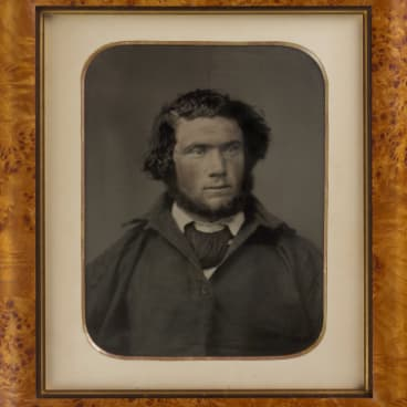 James Johnson, survivor of the wreck of the Dunbar, 1857.
