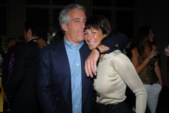 Jeffrey Epstein and his personal assistant Ghislaine Maxwell in 2005.