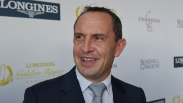 Star ambition: Chris Waller.